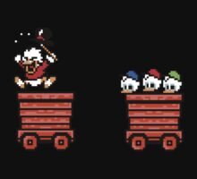 Duck Tales... Woohoo - 8bit One Piece - Short Sleeve