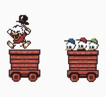 Duck Tales... Woohoo - 8bit One Piece - Long Sleeve