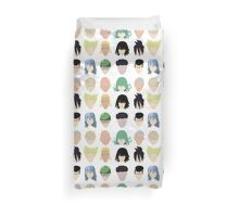 Heroes (And Some Villians) Duvet Cover