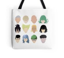 Heroes (And Some Villians) Tote Bag
