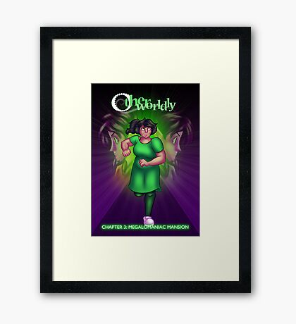 Otherworldly - Chapter 3 Cover Framed Print