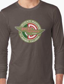 Retro Ducati Racing Long Sleeve T-Shirt