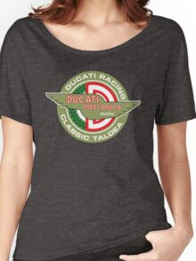 Retro Ducati Racing Women's Relaxed Fit T-Shirt
