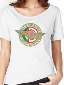 Retro Ducati Racing Women's Relaxed Fit T-Shirt