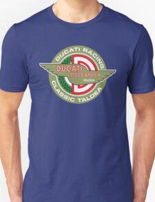 Retro Ducati Racing Unisex T-Shirt