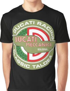 Retro Ducati Racing Graphic T-Shirt