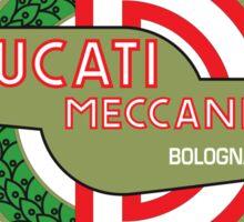 Retro Ducati Racing Sticker