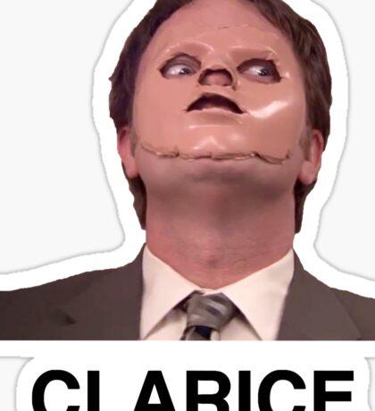 Dwight Clarice  Sticker