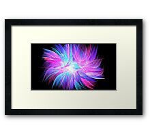 Angel Feathers Framed Print