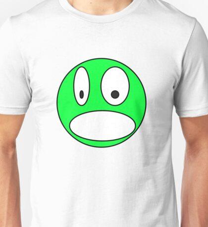 Surprised face Unisex T-Shirt