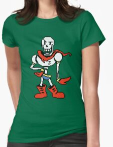 Papyrus Undertale Womens Fitted T-Shirt