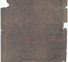 Civil War Maps 2065 Map of Spotsylvania County Va by wetdryvac