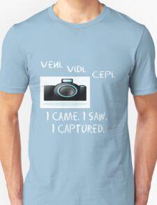 I Came. I Saw. I Captured. T-Shirt