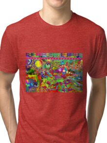 Cherry Tester wsg Grace Kelly Tri-blend T-Shirt
