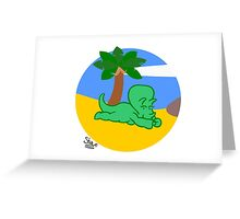 Triceratopless (image only) Greeting Card