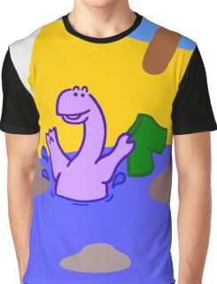 Skinny Diplodocus (image only) Graphic T-Shirt