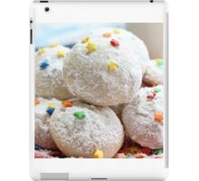 Snowball cookies iPad Case/Skin