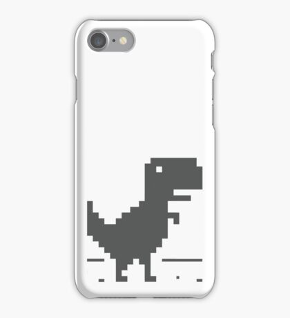 Unable to connect to the internet - Dinosaur iPhone Case/Skin