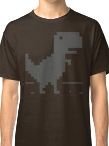 Unable to connect to the internet - Dinosaur Classic T-Shirt