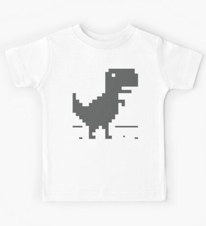 Unable to connect to the internet - Dinosaur Kids Tee