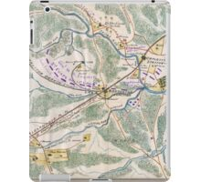 Civil War Maps 1024 Map of Warrenton Junction Orange and Alexandria RR Virginia shewing destruction of RR by enemy October 1863 iPad Case/Skin