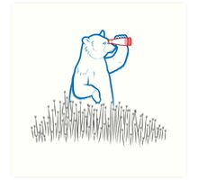 Da Bears - Searching Art Print