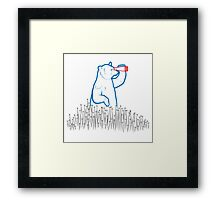 Da Bears - Searching Framed Print