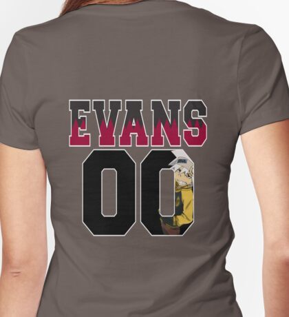 Soul Evans 00 #1 Womens Fitted T-Shirt