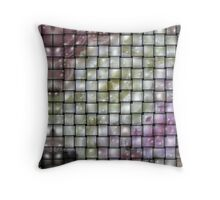 Woven bubbles . Throw Pillow