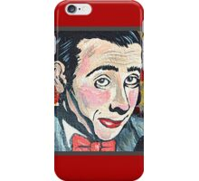 Pee-Wee Herman iPhone Case/Skin