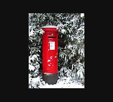 Pillar Box in the Snow Unisex T-Shirt