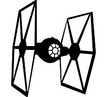 Tie fighter Photographic Print