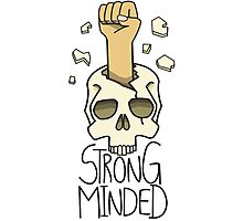 strong minded Photographic Print