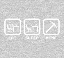 Eat Sleep Mine One Piece - Long Sleeve