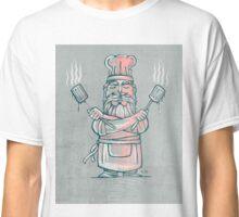 Big bad chef illustration Classic T-Shirt