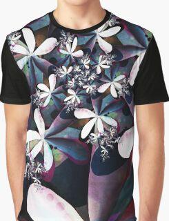 Midnight Flowers Graphic T-Shirt