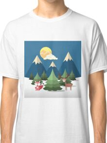 Pines and Mountains Classic T-Shirt