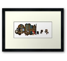 Mr Sackboy Framed Print