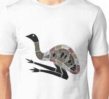 Authentic Aboriginal Art - Emu Unisex T-Shirt