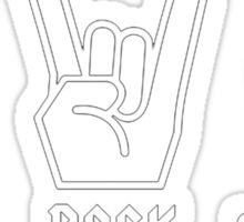 Paper Rock Scissors Sticker