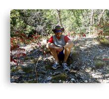 Sandia Mountain Forest Rest Metal Print