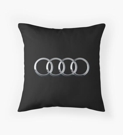 Audi logo  Throw Pillow