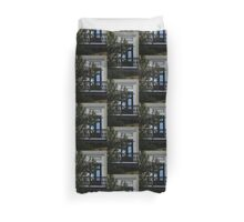 Elegant Tropical Balcony - the Beautiful Colonial Architecture of Old San Juan, Puerto Rico Duvet Cover