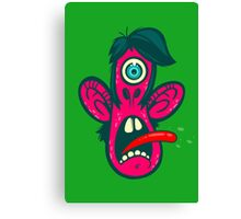Frightened Cyclops Canvas Print