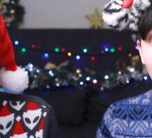 Dan Vs Phil  Christmas Sticker
