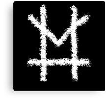 Murder M Logo Canvas Print