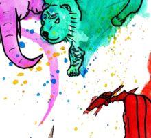 Animal Watercolour Sticker