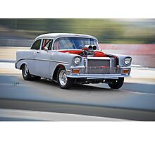 1956 Chevrolet 'All Business' Coupe Photographic Print