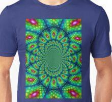 Peacock Kaleidoscope  Unisex T-Shirt