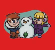 Snow-nudist Kids Tee